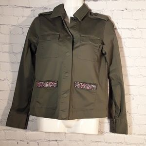 ANDEAWY WOMEN JACKET SIZE XS BUTTONS FRONT
